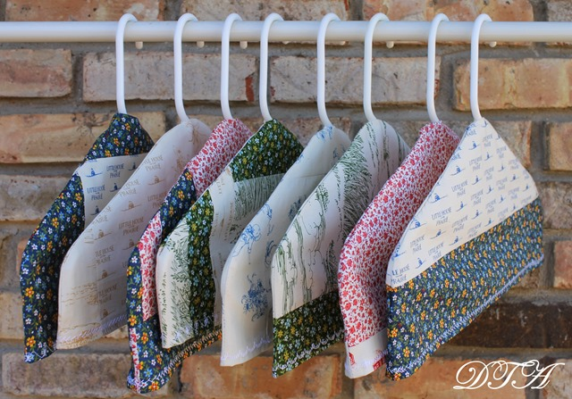 Fabric Covered Hangers 018