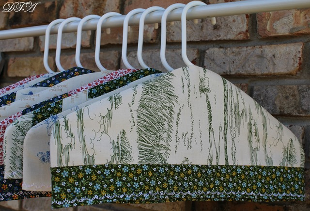 Fabric Covered Hangers 022