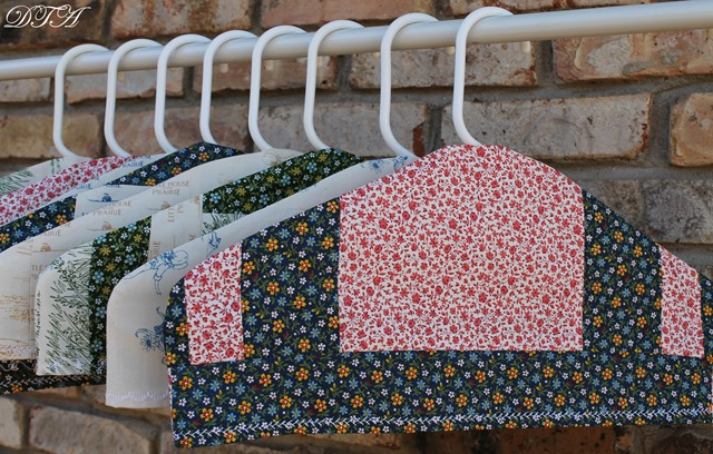 Fabric Covered Hangers 025