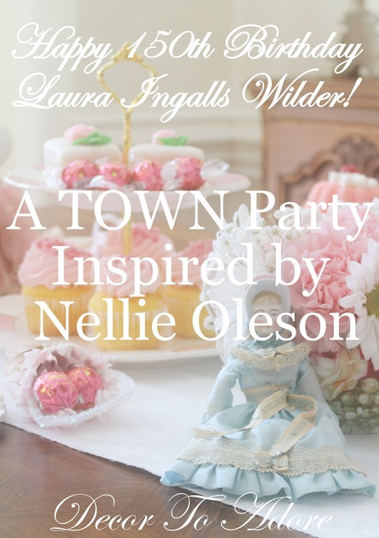 A Town Party Happy 150th Birthday Laura Ingalls Wilder