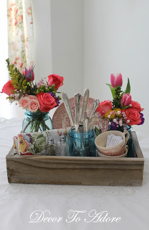 Woodworking Wednesdays A Little Wooden Caddy Decor To Adore