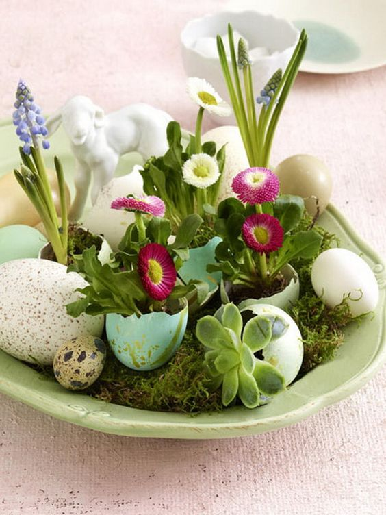 60 Creative Ways to Decorate With Easter Eggs  Family Holiday: