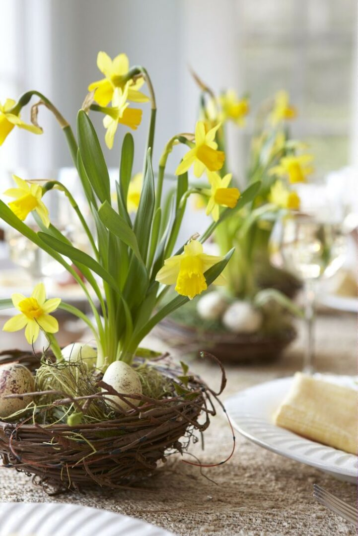 Easter Flower Table Arrangements 20