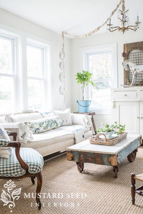 Summer House tour from Miss Mustard Seed: