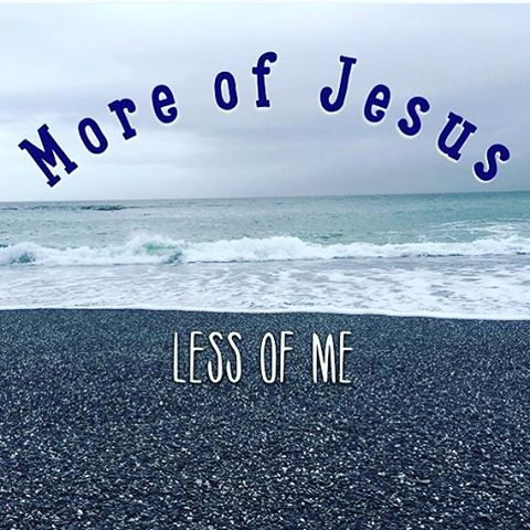 Image result for more jesus less me