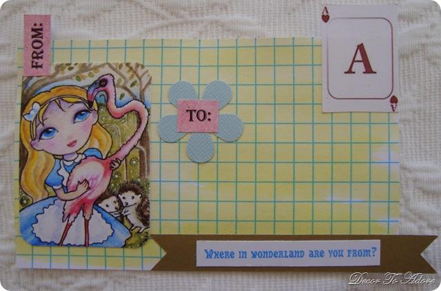 Alice in Wonderland Labels