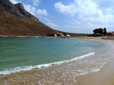 Zorba's Mountain Stavros Beach