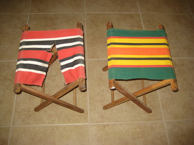 1950's camp chairs