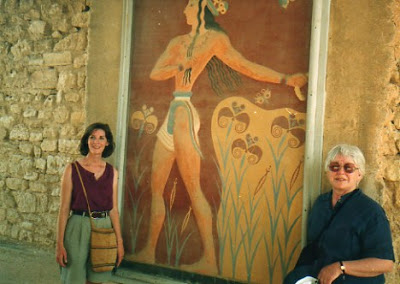Palace of Knossos fresco