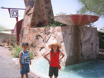 Frank Lloyd Wright and Taliesin West