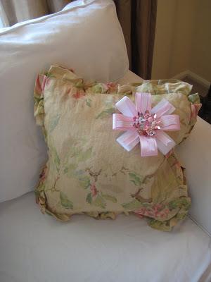 Vintage Easter corsage