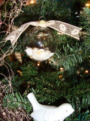Button Christmas Ornament