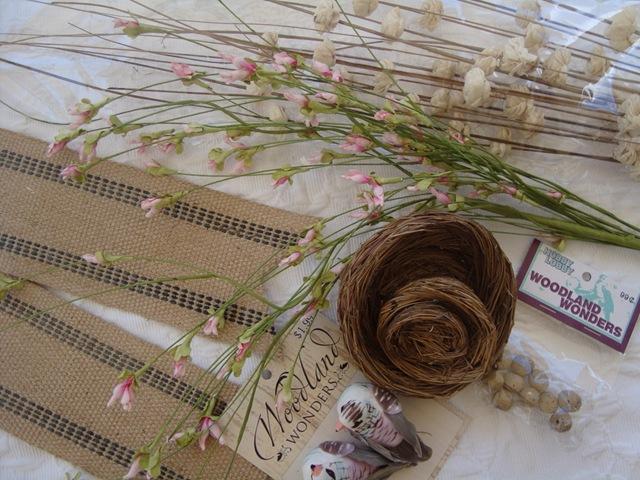 Birds Nest & Burlap Wreath Tutorial