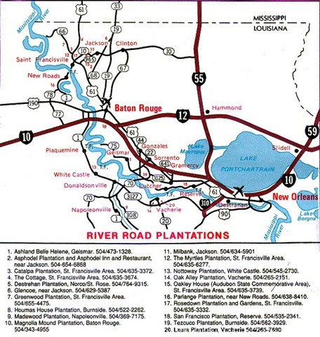 Map Of Louisiana Plantations.Plantation Homes Decor To Adore