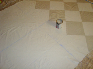 Tutorial Creating A Painted Floorcloth
