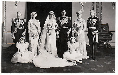 Princess Marina of Greece and Denmark wedding