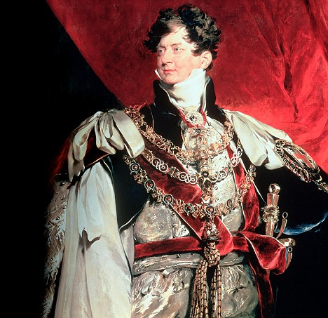 Prince Regent, later George IV