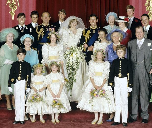 Lady Diana bride