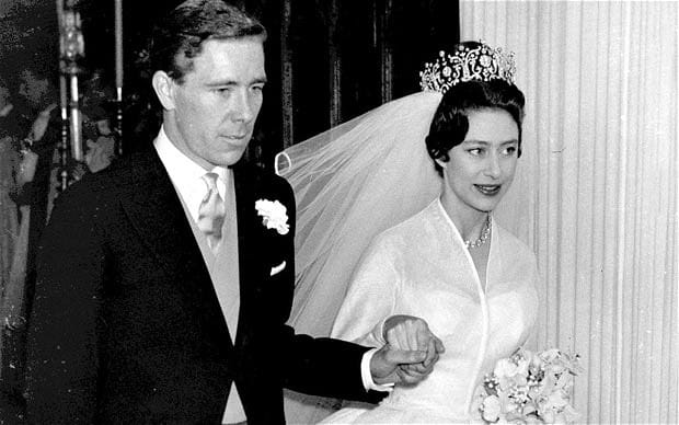 Princess Margaret wedding veil
