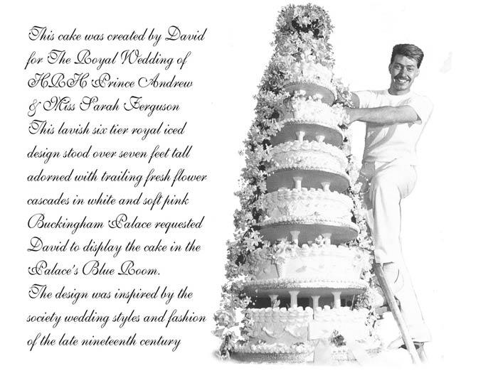 HRH Prince Andrew Miss Sarah Ferguson cake
