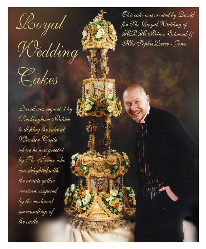 Prince Edward and Sophie Rhys~ Jones wedding cake