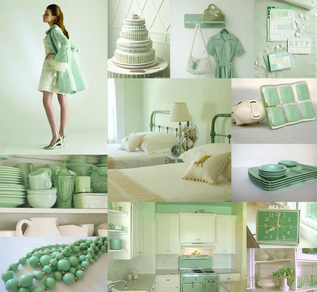 Mint Green It's Not Just For Ice Cream