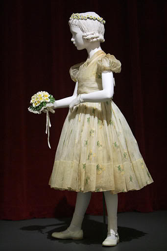 Grace Kelly flowergirl dress