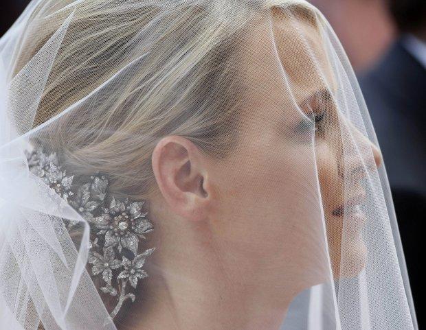 Princess Charlene bride