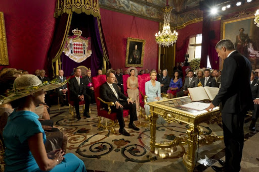 Civil Ceremony 1- Princely Wedding- (C) Palais Princier
