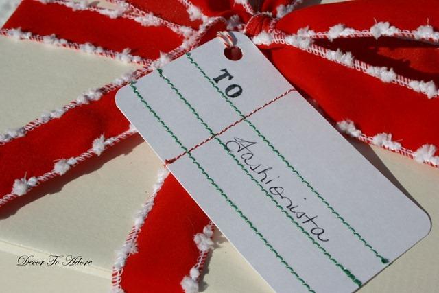 Handmade anthro tags
