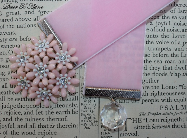 Gifts To Make #2 Velvet Bookmarks