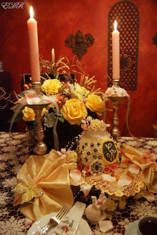 Royal Tablescape