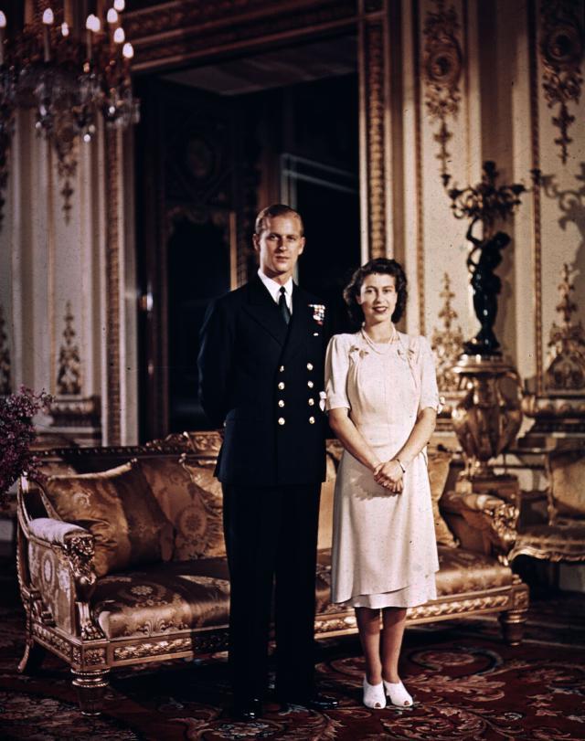 Princess Elizabeth engaged