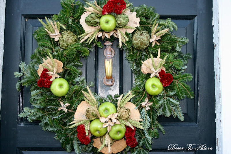 Colonial Williamsburg wreath