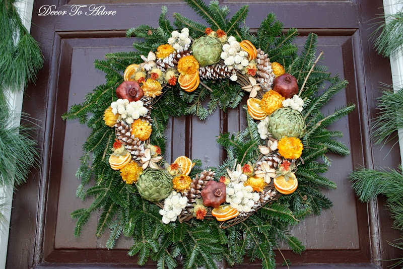 gorgeous williamsburg wreath