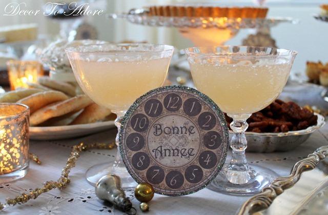 bonne annee drinks