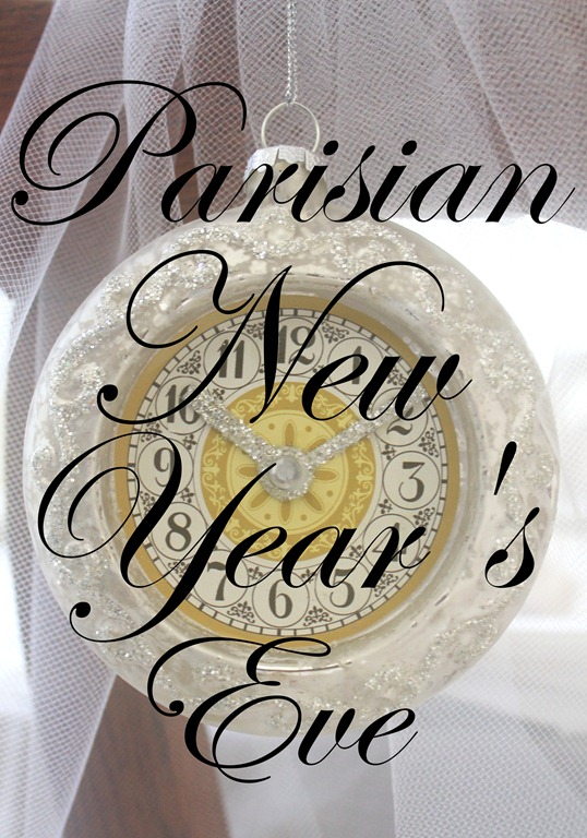 Parisian New Year's Eve Party Bonne Année