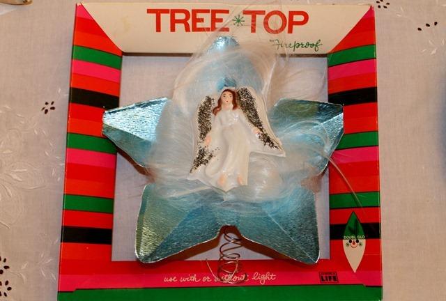 vintage tree topper