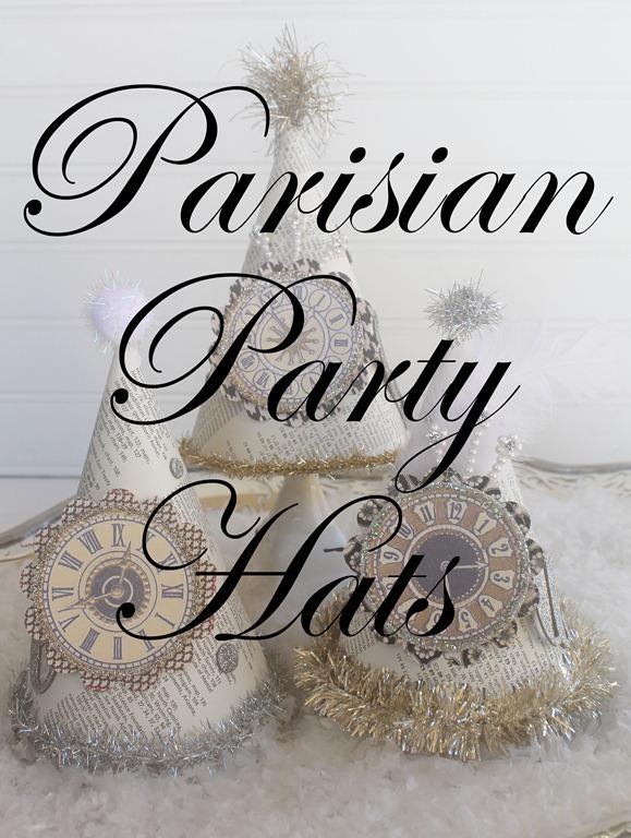parisian party hats