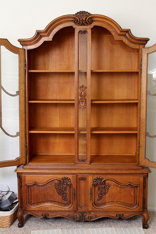 Transforming the china hutch