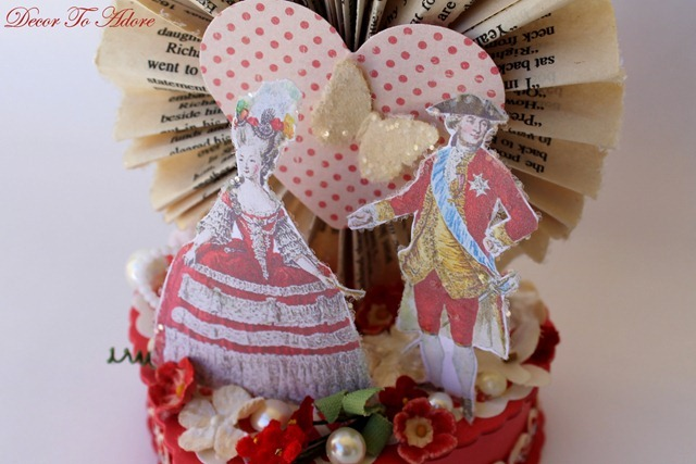 French Inspired Valentine Candy Boxes