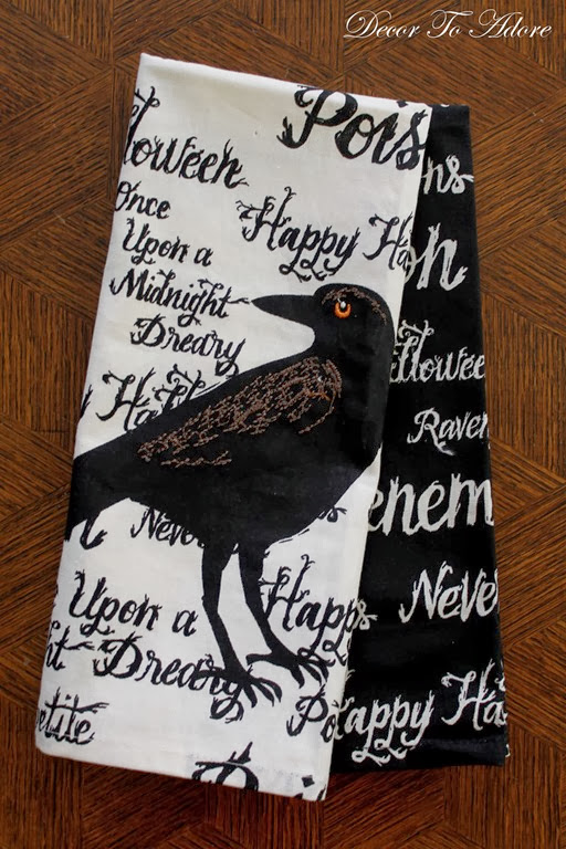 Nevermore Halloween Tablescape