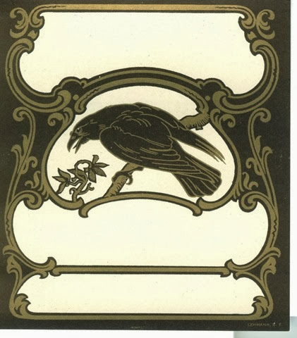 raven placecard