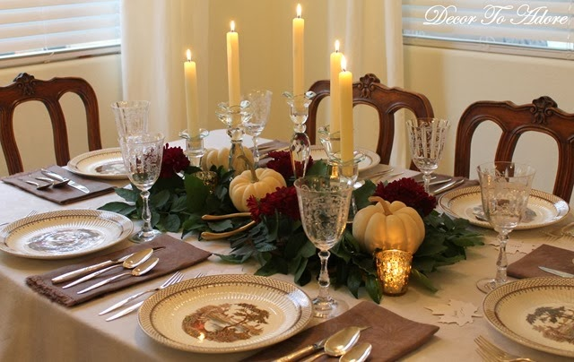 DTA Thanksgiving table