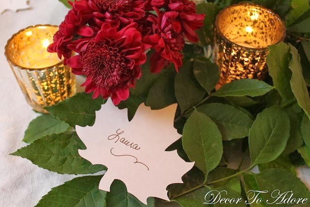 DTA Thanksgiving placecards