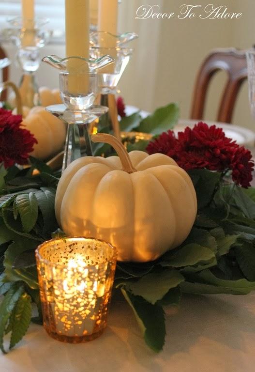 DTA Thanksgiving centerpiece