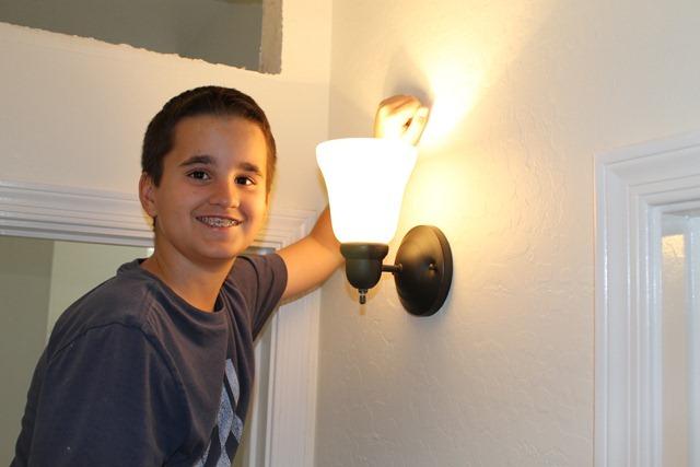 Sweet Guy installs lighting