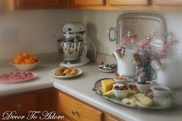 Perfect Cookie Exchange kitchen vignettes