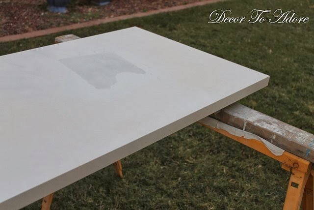 painting desk top
