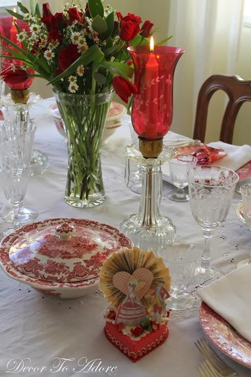 Victorian Valentine Tablescape